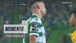 Sporting CP, Jogada, Pedro Gonçalves aos 10'