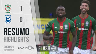 I Liga (10ªJ): Resumo Flash Marítimo M. 1-0 Belenenses SAD