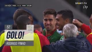 GOLO! Marítimo M., Rodrigo Pinho aos 52', FC Porto 1-2 Marítimo M.