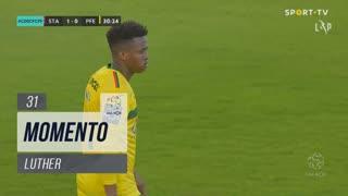 FC P.Ferreira, Jogada, Luther aos 31'