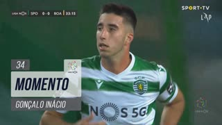 Sporting CP, Jogada, Gonçalo Inácio aos 34'