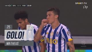 GOLO! FC Porto, Matheus aos 25', Sporting CP 1-1 FC Porto