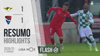 I Liga (9ªJ): Resumo Flash Moreirense FC 1-1 Gil Vicente FC