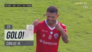 GOLO! Santa Clara, Carlos Jr. aos 23', CD Nacional 0-1 Santa Clara