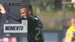 Gil Vicente FC, Jogada, Lino aos 10'