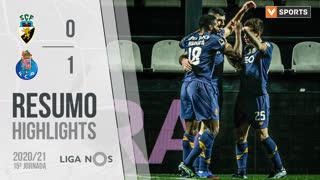 Liga NOS (15ªJ): Resumo SC Farense 0-1 FC Porto