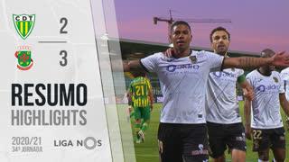 Liga NOS (34ªJ): Resumo CD Tondela 2-3 FC P.Ferreira