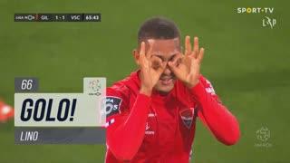 GOLO! Gil Vicente FC, Lino aos 66', Gil Vicente FC 1-1 Vitória SC