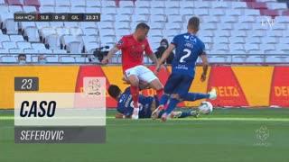 SL Benfica, Caso, Seferovic aos 23'