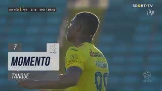 FC P.Ferreira, Jogada, Tanque aos 7'