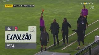 FC P.Ferreira, Caso, Pepa aos 40'