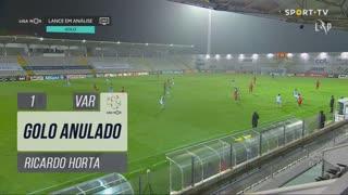 SC Braga, Golo Anulado, Ricardo Horta aos 1'