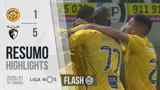 Liga NOS (25ªJ): Resumo Flash CD Nacional 1-5 Portimonense