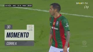 Marítimo M., Jogada, Correa aos 30'