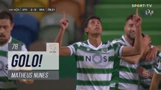 GOLO! Sporting CP, Matheus Nunes aos 78', Sporting CP 2-0 SC Braga