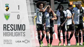 Liga NOS (33ªJ): Resumo SC Farense 1-0 CD Tondela