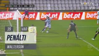 Moreirense FC, Penálti, Walterson aos 39'