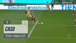 Sporting CP, Caso, Pedro Gonçalves aos 15'