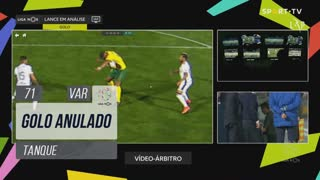 FC P.Ferreira, Golo Anulado, Tanque aos 71'