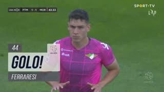 GOLO! Moreirense FC, Ferraresi aos 44', Portimonense 1-1 Moreirense FC