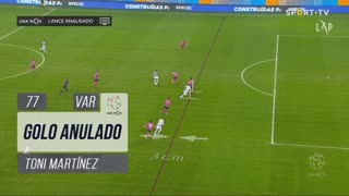 FC Porto, Golo Anulado, Toni Martínez aos 77'