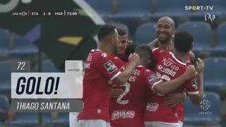GOLO! Santa Clara, Thiago Santana aos 72', Santa Clara 2-0 Marítimo M.