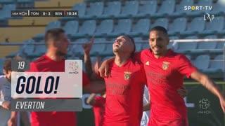 GOLO! SL Benfica, Everton aos 19', CD Tondela 0-2 SL Benfica