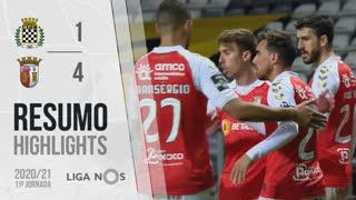 Liga NOS (11ªJ): Resumo Boavista FC 1-4 SC Braga