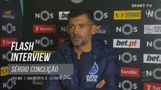 """Sérgio Conceição: """"Hoje fomos felizes na concretização"""""""