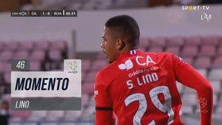 Gil Vicente FC, Jogada, Lino aos 46'