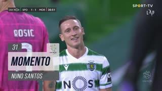 Sporting CP, Jogada, Nuno Santos aos 31'
