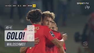 GOLO! SL Benfica, Waldschmidt aos 45'+4', Rio Ave FC 0-2 SL Benfica
