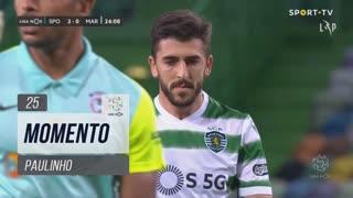 Sporting CP, Jogada, Paulinho aos 25'