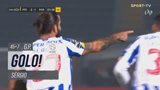GOLO! FC Porto, Sérgio aos 45'+7', FC P.Ferreira 2-1 FC Porto