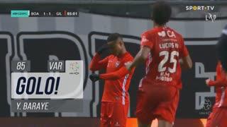 GOLO! Gil Vicente FC, Y. Baraye aos 85', Boavista FC 1-2 Gil Vicente FC