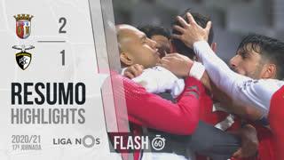 Liga NOS (17ªJ): Resumo Flash SC Braga 2-1 Portimonense