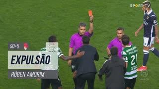 Sporting CP, Expulsão, Rúben Amorim aos 90'+5'