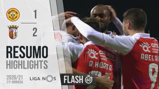 Liga NOS (21ªJ): Resumo Flash CD Nacional 1-2 SC Braga