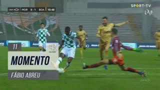 Moreirense FC, Jogada, Fábio Abreu aos 11'