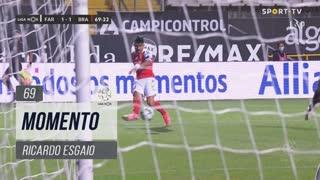 SC Braga, Jogada, Ricardo Esgaio aos 69'