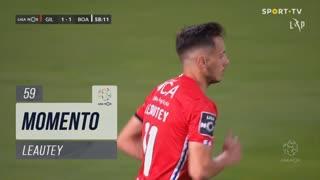 Gil Vicente FC, Jogada, Leautey aos 59'