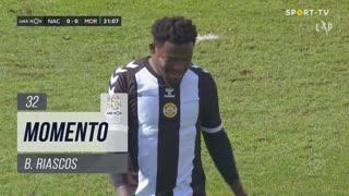 CD Nacional, Jogada, B. Riascos aos 32'