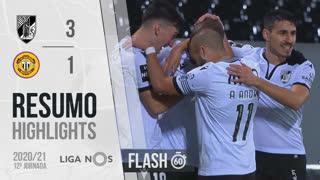 Liga NOS (12ªJ): Resumo Flash Vitória SC 3-1 CD Nacional