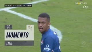 Gil Vicente FC, Jogada, Lino aos 28'