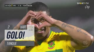 GOLO! FC P.Ferreira, Tanque aos 2', FC P.Ferreira 1-0 CD Tondela