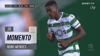 Sporting CP, Jogada, Nuno Mendes aos 38'