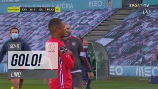 GOLO! Gil Vicente FC, Lino aos 90'+6', Rio Ave FC 0-2 Gil Vicente FC