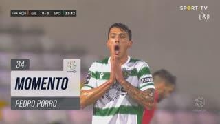 Sporting CP, Jogada, Pedro Porro aos 34'