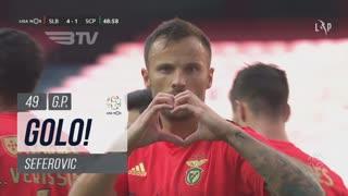 GOLO! SL Benfica, Seferovic aos 49', SL Benfica 4-1 Sporting CP