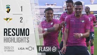 Liga NOS (18ªJ): Resumo Flash SC Farense 1-2 Moreirense FC